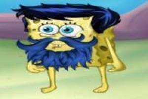 SpongeBob with a lot of beard
