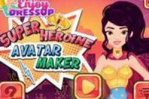 Super Heroine avatar maker
