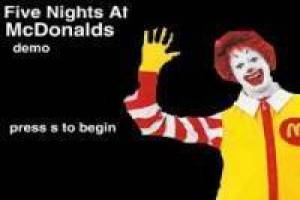 Free Five nights at McDonald Game