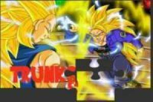 Trunks vs Vegeta: Rompecabezas