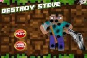 Steve uccidere Minecraft