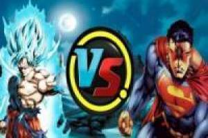 Animación: Goku vs Superman