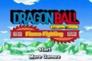 Juego Dragon Ball Fierce Fighting 1.1 para jugar gratis online