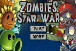 Plantas vs zombis star wars