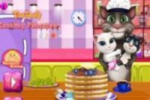 Cocinar: Talking Tom y familia