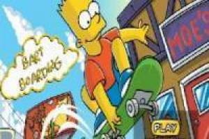 Bart Simpson Boarding