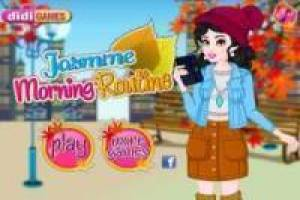 Free Princess Jasmine: Morning Routine Game