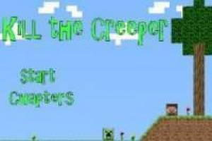 Minecraft: Kill the Creeper