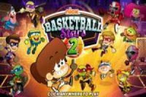 Nickelodeon Stjerner Basketball