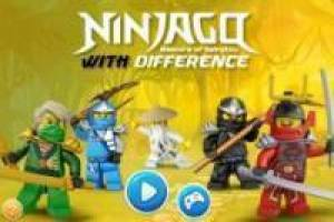 Ninjago Differences