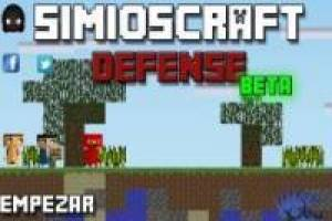 Minecraft: Simioscraft Defense