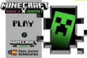 Minecraft: Encuentra al Creeper