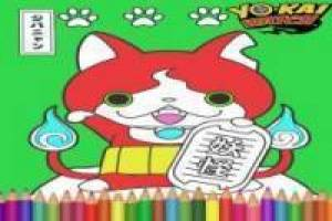Painting Jibanyan: Yo Kai Watch