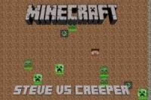 Minecraft: Steve vs Creeper