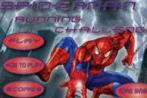 Spiderman: Running Challenge