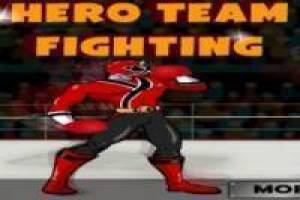 Power Rangers: Hero team fighting