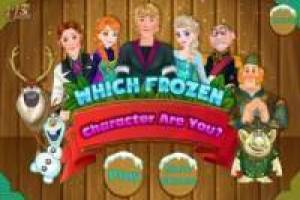 Free What Character of Frozen are you? Game