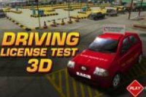 Free Driving license 3D Game