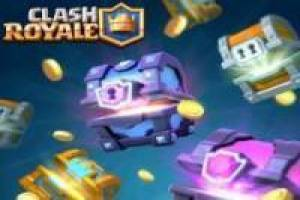 Opening Clash Royale chests