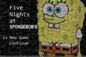 Gioco Five Nights at Spongebob Gratuito