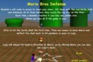 Mario Bros Defense