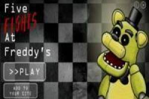 Пять Night At Fight Freddy's