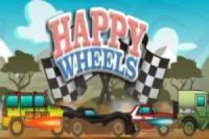 Happy Wheels con coches de películas