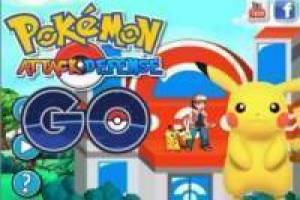 Juego Pokémon Attack defense GO Gratis