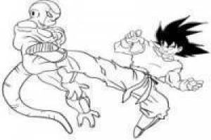 Black Goku vs Frieza: Paint Online