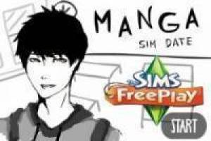The Sim: Love Quote com Manga