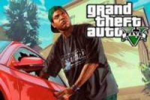 Lamar Davis stealing cars in GTA 5