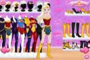 Vestir Princesas Disney de Superhéroes Marvel