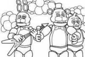 Five Nights at Freddy´s paint