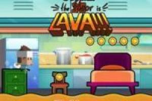 Juego The floor is lava!! Online Gratis