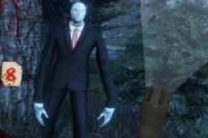 Slenderman in the dark