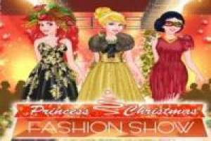 Zdarma Disney Princesses: Christmas Fashion Show Hrát