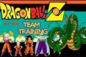 Dragon Ball Z team trening GBA: Versjon Pokémon