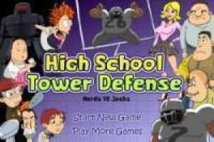 Kostenlos High School Tower Defense Spiel