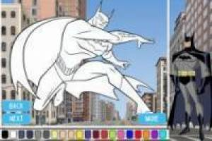 Coloring Justice League Superheros Game Online Game