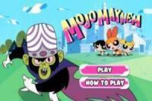 Powerpuff Girls vs Mojo Mayhem