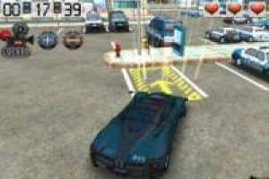 Parking de carros policiales
