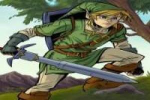 Link in the dungeon