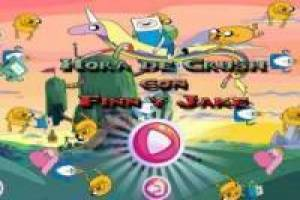 Free Crush Time with Finn and Jake Game