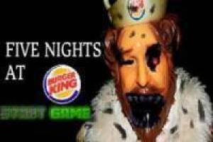 Free Five Nights at Burger King Game
