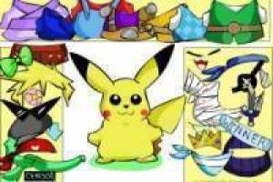 Pokemon Pikachu dress up