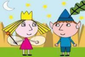 Ben en Holly's Little Kingdom ongekleurd
