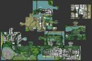 Mapa de Grand theft Auto San Andreas