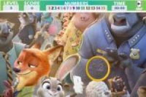 Zootopia hidden numbers