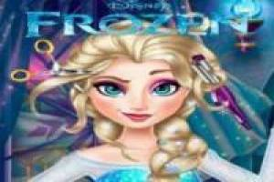 Free Making up elsa, frozen Game