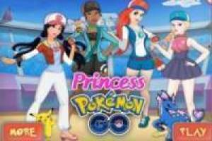 Free Pokémon princesses dress up Game